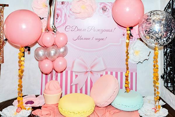 Поздравления с днем рождения 1 годик девочке милане